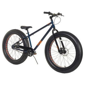 Magna Men's Triax Fracture Fat Tire Bike - Blue (26