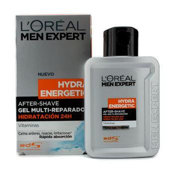 L'Oréal Paris Men Expert Hydra Energetic After Shave Multi-Repairing 24H Hydration Gel