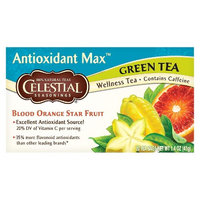 Celestial Seasonings Antioxidant Max Green Tea 20 ct, 6 pk