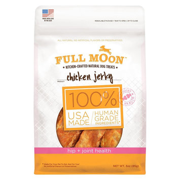 Perdue Full Moon Dog Treat Chicken Jerky Hip & Joint 3oz