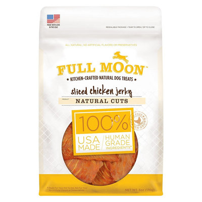 Perdue Full Moon Dog Treats Natural Cut Chicken Jerky 6oz