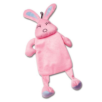 PetRageous Designs CrinkleRageous Baylee the Bunny Dog Toy (Pink)