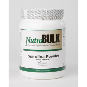 NutraBulk Spirulina Powder One Kilogram SUPER FOOD