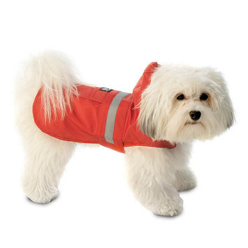 PetRageous Designs Seattle Dog Slicker - Small (Red)