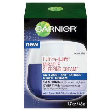 Garnier Ultra-Lift Miracle Sleeping Cream Anti-Age + Anti-Fatigue Night Cream - 1.7 oz