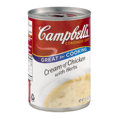 Campbell's Cream of Chicken with Herbs