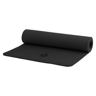 Stott Pilates Single Color Eco Friendly Mat - Black