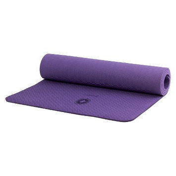 Stott Pilates Single Color Eco Friendly Mat - Eggplant