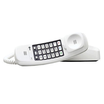 AT & T 210WH Trimline Basic Telephone