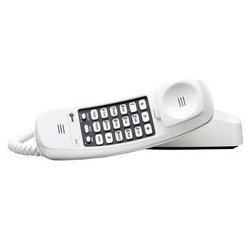 AT & T 210WH Trimline Basic Telephone