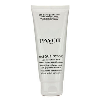 Payot Les Demaquillantes Masque DTox Detoxifying Radiance Mask - For Normal To Combination Skins (Sa