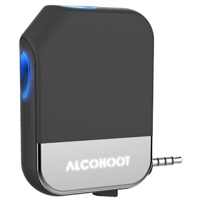 Alcohoot Llc Alcohoot Smartphone Breathalyzer - Black