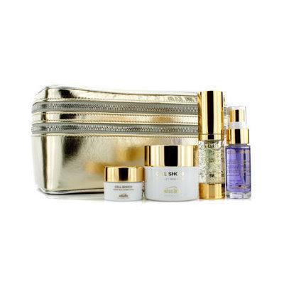 Swissline 25th Anniversary Cell Shock Gold Kit: Rich Cream, Eye Complex, Overnight Cream, Essence