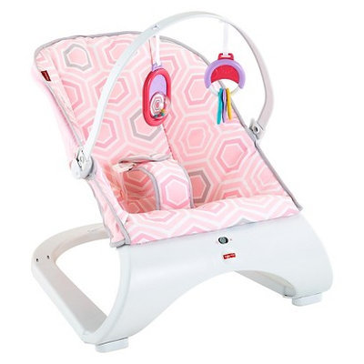 Fisher Price Fisher-Price Comfort Curve Bouncer - Pink Saturn Snuggle