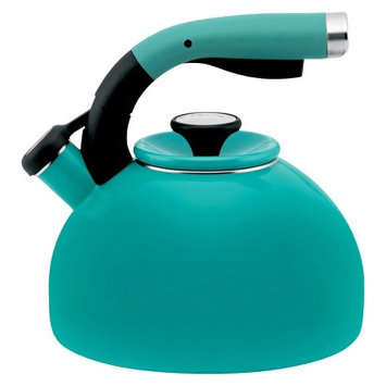 Circulon 2-Quart Morning Bird Teakettle Capri Turquoise