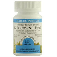 Eclectic Institute Inc Goldenseal Herb 300 Mg 300 Mg 100 Caps