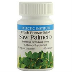 Eclectic Institute Saw Palmetto 600 MG - 60 Veggie Caps - Other Herbs
