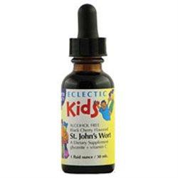 Eclectic Institute St. John'S Wort Kids(Blkche) - 1 Ounces Liquid - Other Herbs