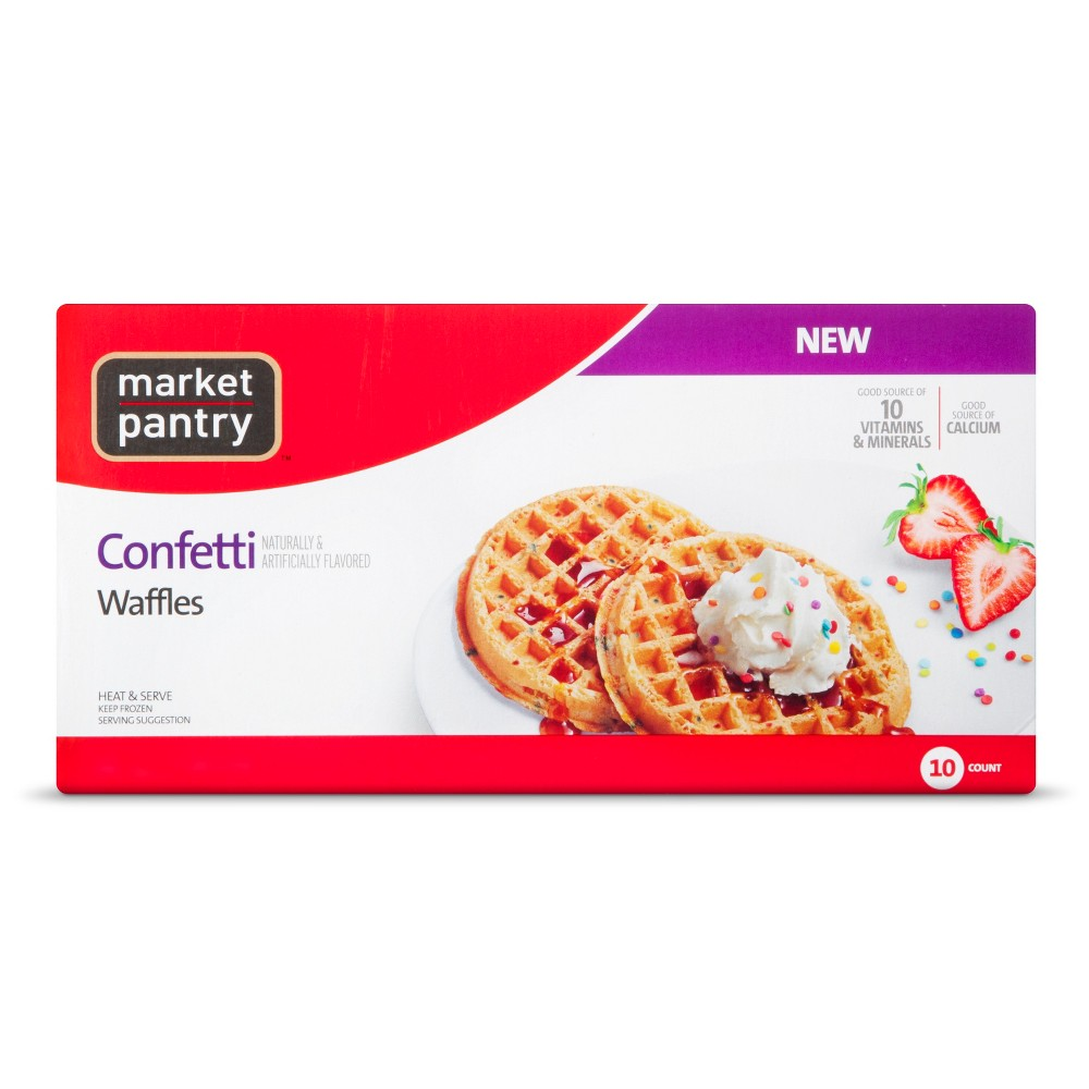 Market Pantry Confetti Waffle 10 Count