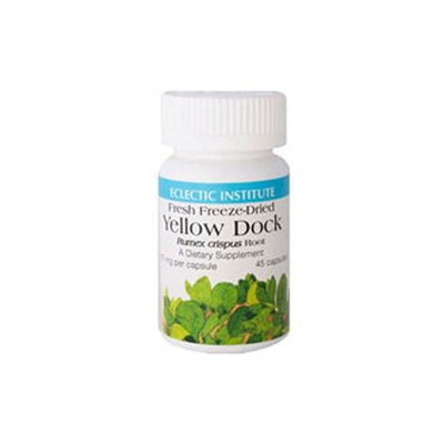 Eclectic Institute Yellow Dock Fd V-50 - 50 Capsules - Other Herbs