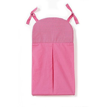 One Grace Place Simplicity Diaper Stacker Color: Hot Pink