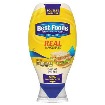 Best Foods Real Squeeze Mayonnaise 20 oz
