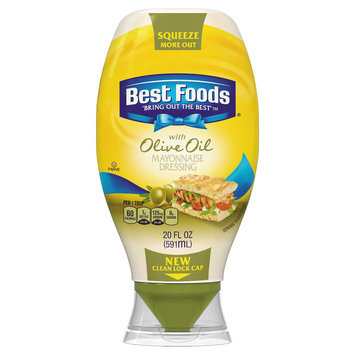 Best Foods Olive Oil Squeeze Mayonnaise 20 oz