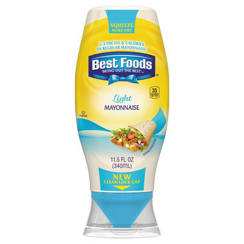 Best Foods Light Squeeze Mayonnaise 11.5 oz