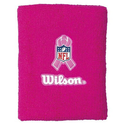 Wilson NFL Breast Cancer Awareness Wristcoach Band