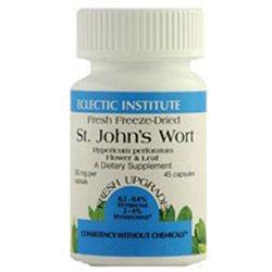Eclectic Institute St John's Wort - 300 mg - 90 Vegetarian Capsules