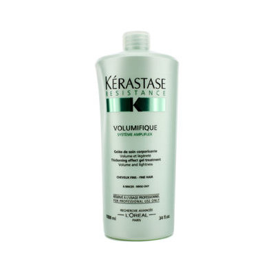 L'Oréal Paris Kerastase Resistance Volumifique Thickening Effect Gel Treatment - for Fine Hair