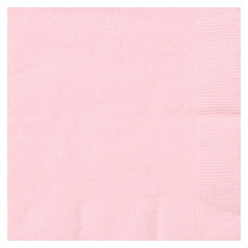 Creative Expressions Beverage Napkins - 50-Pack, Classic Pink