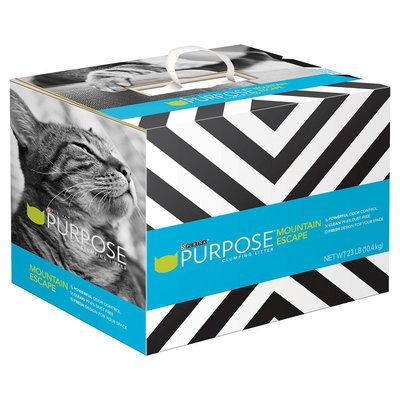 Purina Petcare Purpose Mountain Escape cat litter 23lb