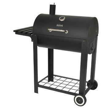 Blue Rhino Smoker: Chefmate Charcoal Smoker Barrel: Black