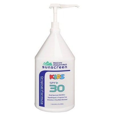 Rocky Mountain Sunscreen Kids SPF 30+ 1 gal (3.7 L)