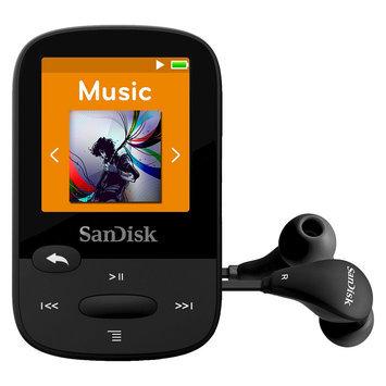 SanDisk Clip Sport SDMX24-008G 8GB Flash MP3 Player - Black