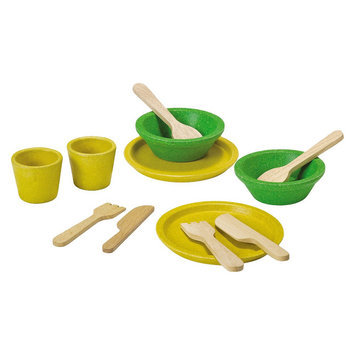 Plan Toys Activity Tableware Playset