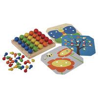 Plan Toys Preschool Creative Peg Board