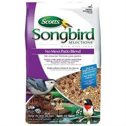 Scotts Songbird Scotts 1022694 Songbird Selections No Mess Patio Blend Bird Seed - 5.5 Lbs.