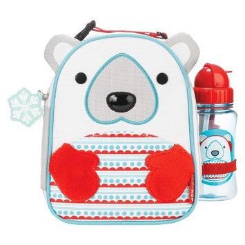 Skip Hop Zoo Winter Lunchie Bottle Set (Polar Bear)