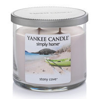 Yankee Candle simply home 10-oz. Stony Cove Soy Jar Candle (Brown)