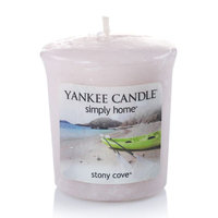 Yankee Candle simply home Stony Cove Soy Votive Candle (Brown)