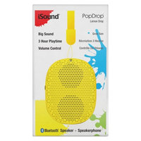 iSound Pop Drop Wireless Speaker Lemon Drop (ISOUND-6352)