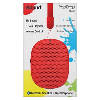 iSound Pop Drop Wireless Speaker Cherry (ISOUND-6347)