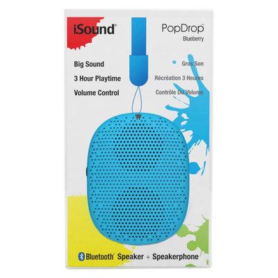 iSound Pop Drop Wireless Speaker - Blueberry (ISOUND-6346)