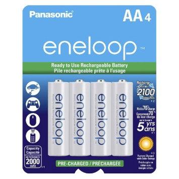 Panasonic eneloop Rechargeable Batteries - 4AA