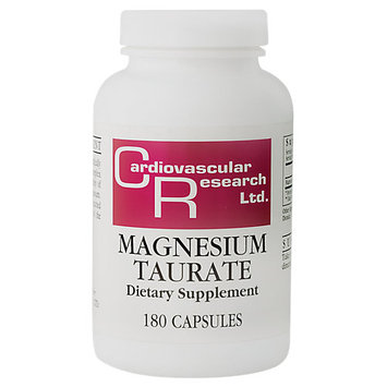 Cardiovascular Research - Magnesium Taurate, 125 mg, 180 capsules