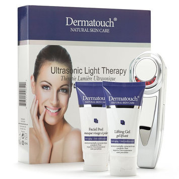 Dermatouch Ultrasonic Light Therapy Kit + Lifting Gel & Facial Peel