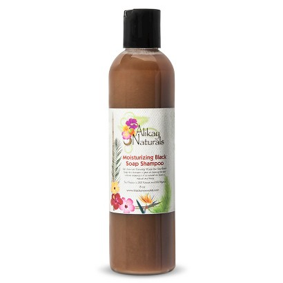 Alikay Naturals Alikay Moist Black Soap Shampoo - 8 oz