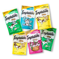 Mars Incorporated Whiskas Temptations 6 Count 3 oz. Variety Pack Cat Treats - Feline